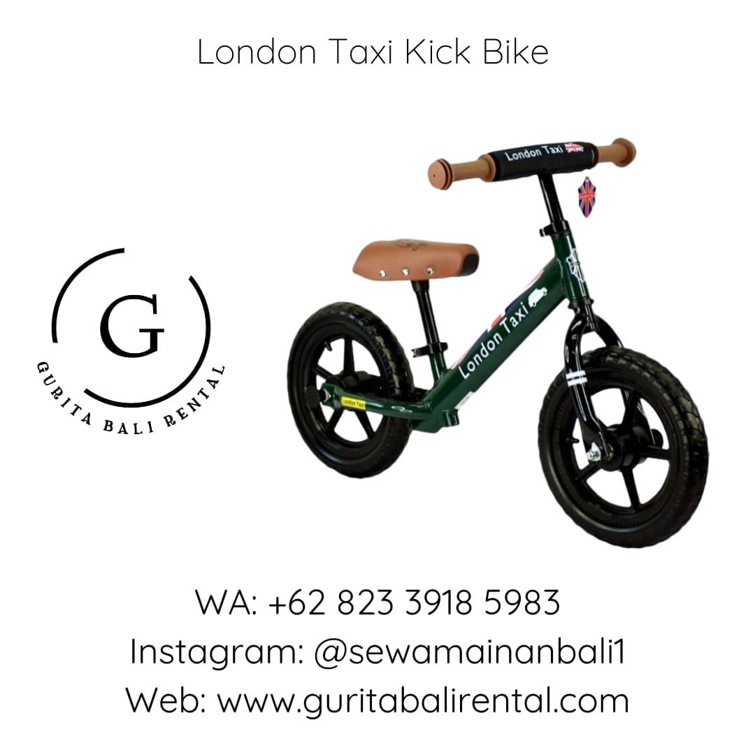 LONDON TAXI KICK BIKE 4