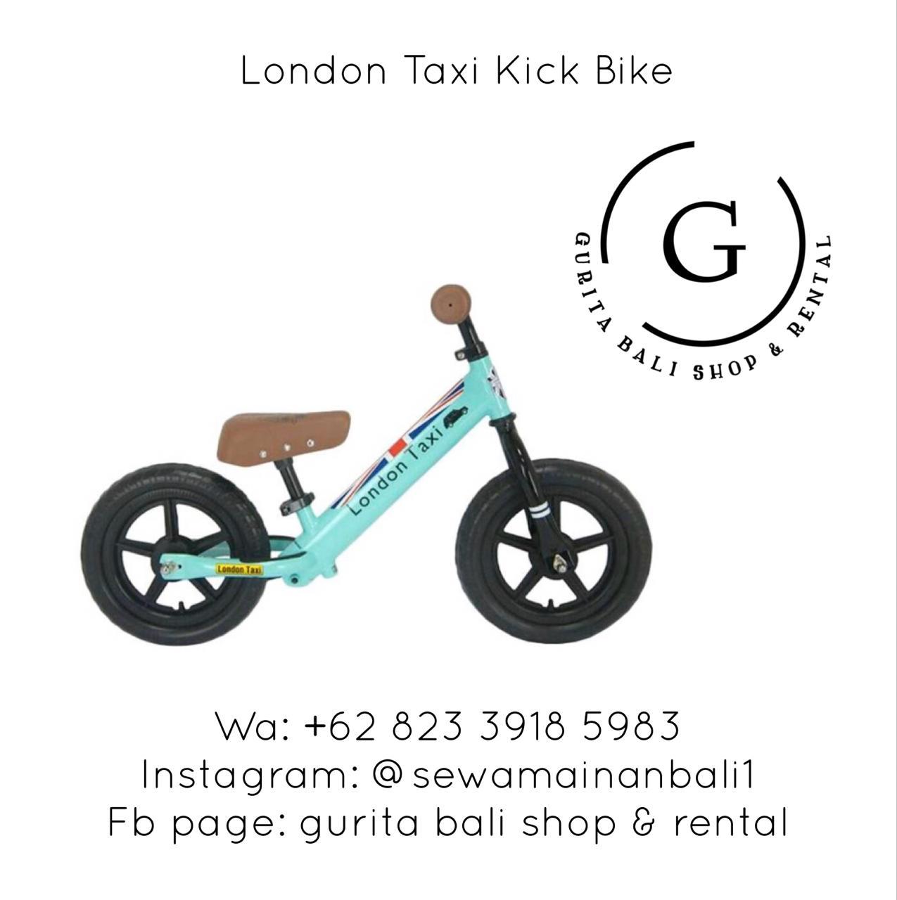 LONDON TAXI KICK BIKE 1