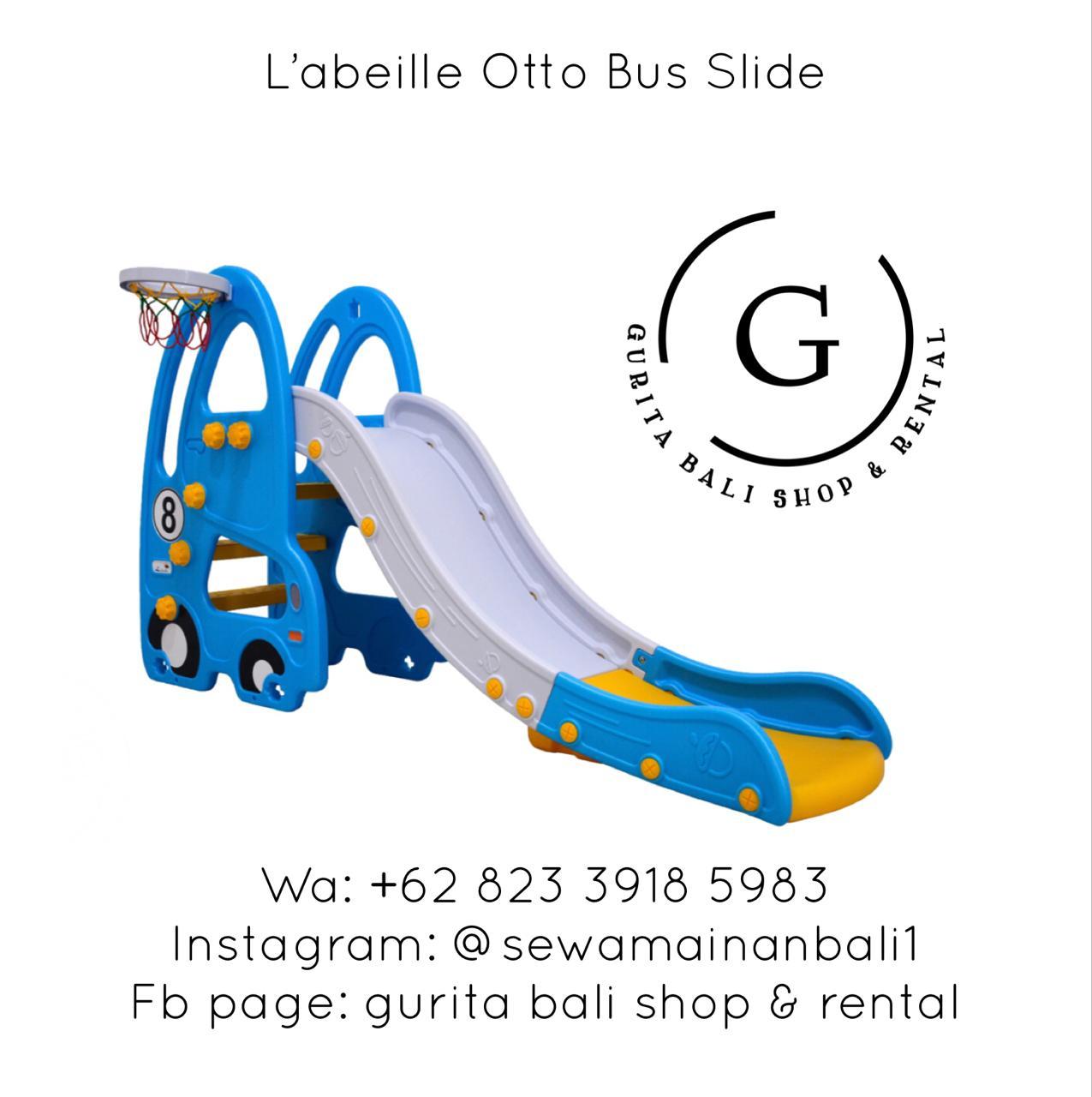 L'ABEILLE OTTO BUS SLIDE BLUE (A)