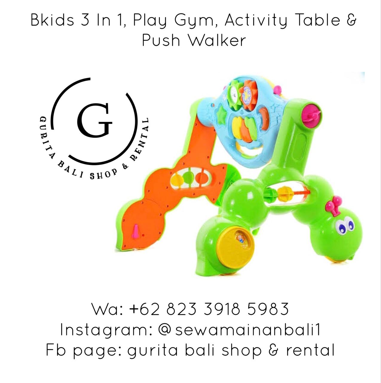 B KIDS 3 IN 1 PLAY GYM